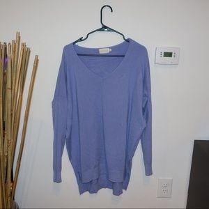 Periwinkle sweater tunic